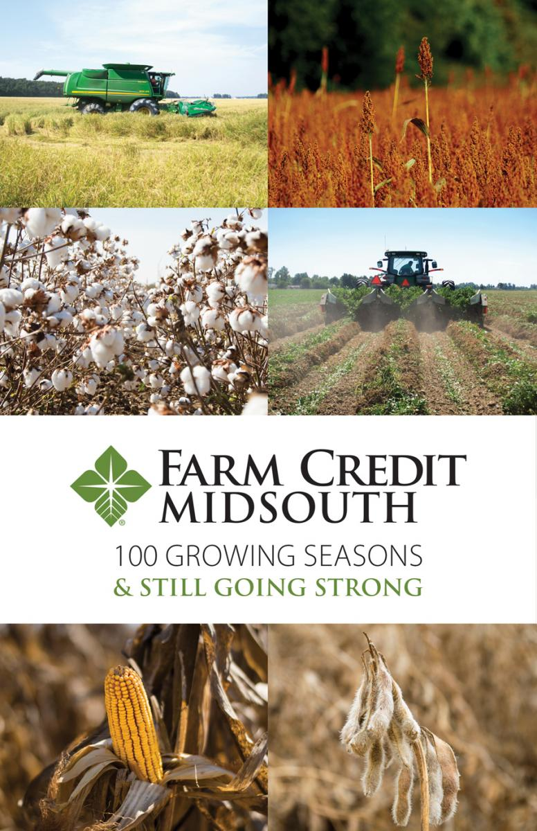 100 growing seasons and still growing strong brochure cover