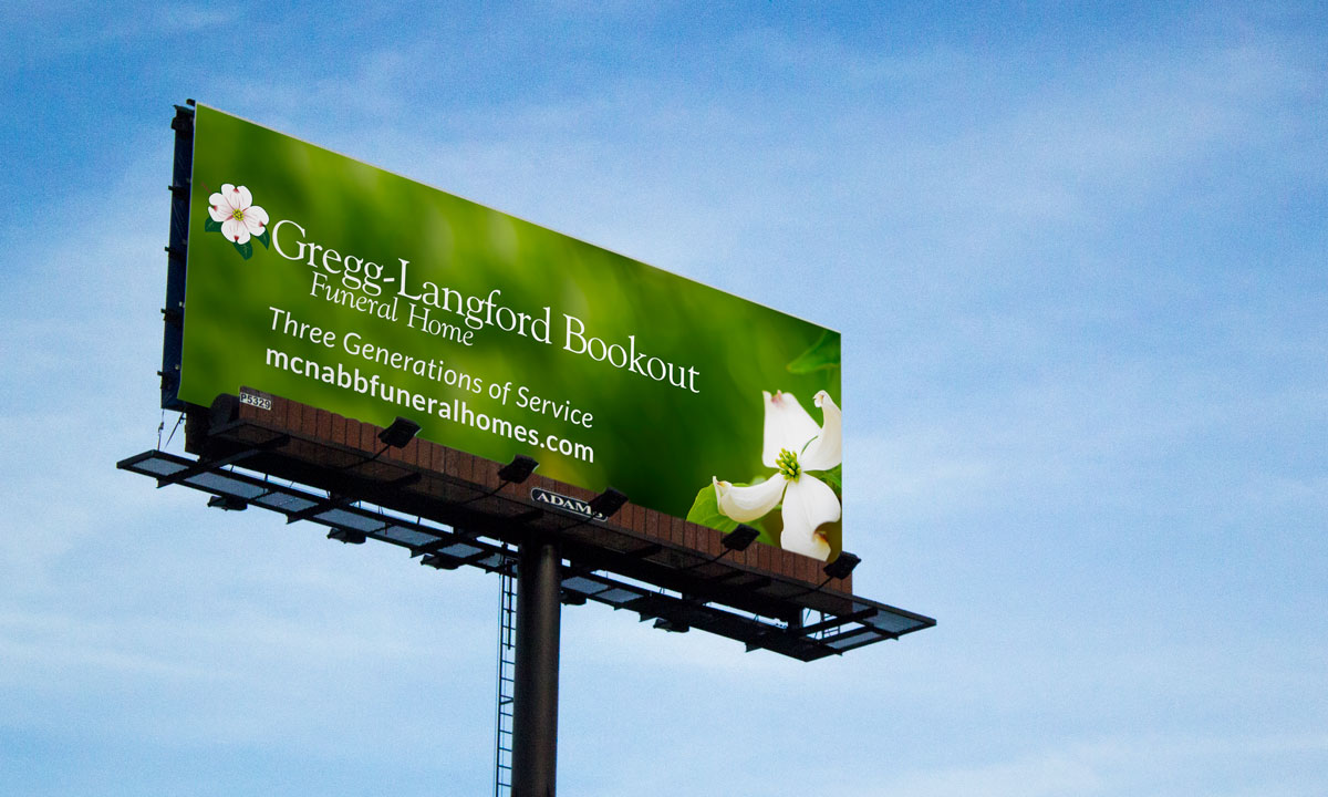 Gregg-Langford Bookout Billboard