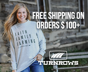 Free Shipping Turnrows ad