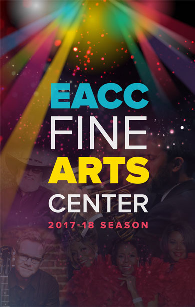 front cover of 2017 fine arts brochure