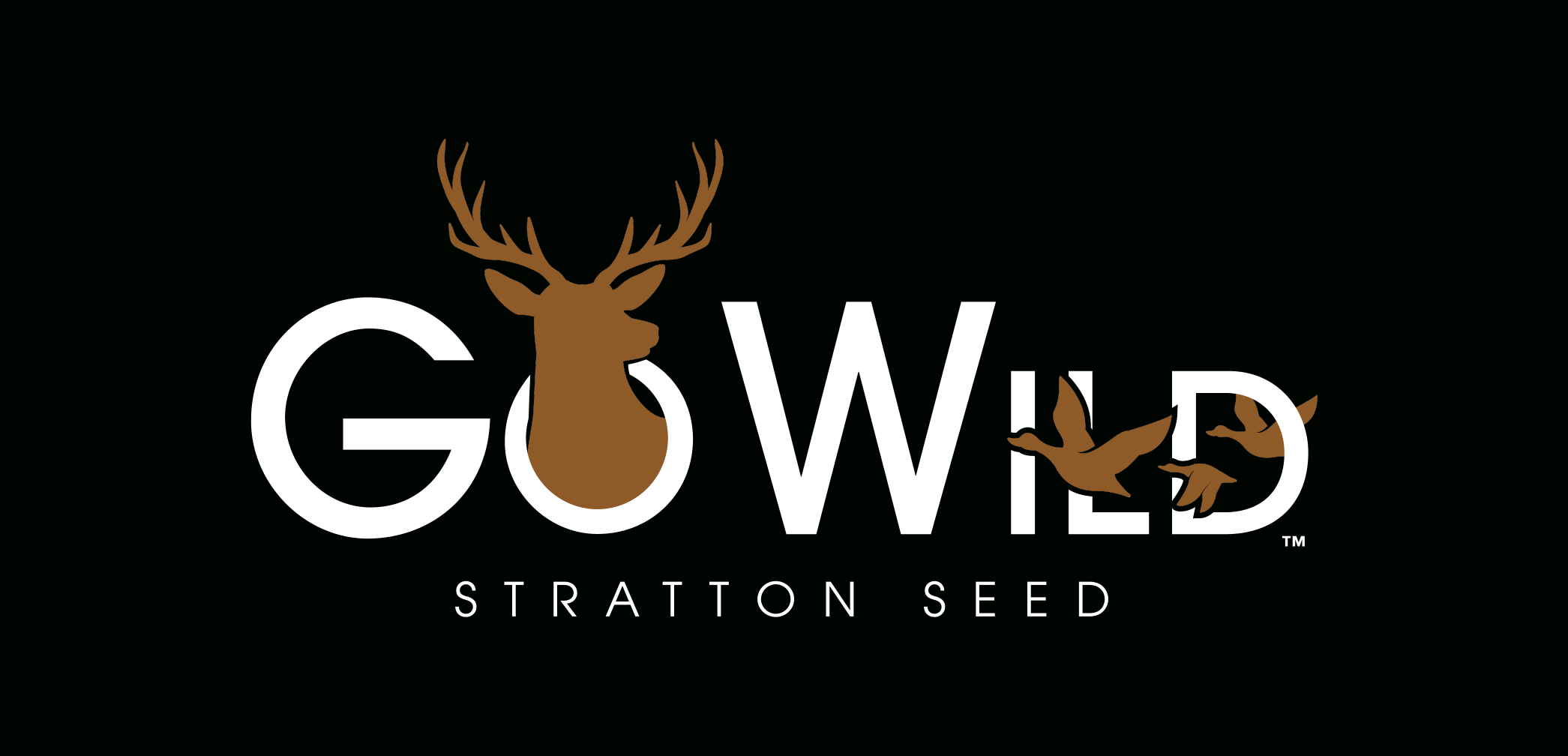GoWild logo with white text